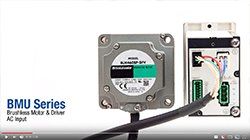Video - BMU Series Brushless DC Motor Features