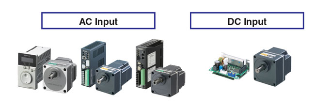 Brushless DC Motor Input Types