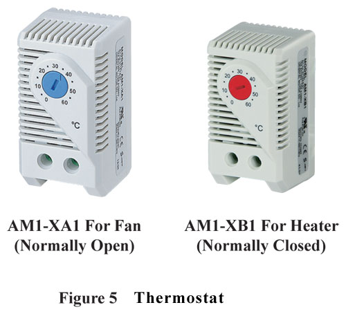 Thermostat for Cooling fan or Heating Module