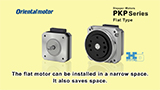 PKP Series Stepper Motor Flat Type